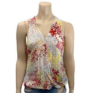 DEX Floral Print Sleeveless Top